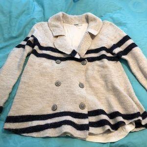 Free People Striped Wools Sweater